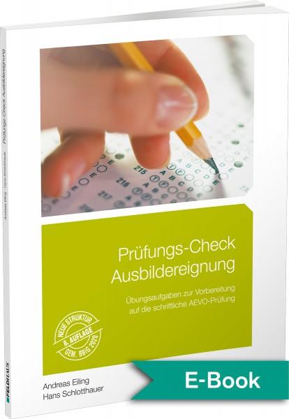 Prüfungs-Check Ausbildereignung – E-Book