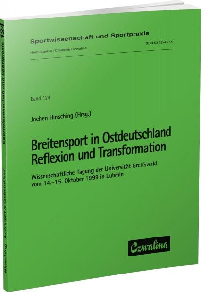 Breitensport in Ostdeutschland – Reflexion und Transformation