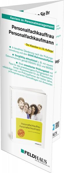 Personalfachkauffrau / Personalfachkaufmann, Flyer zum Buch
