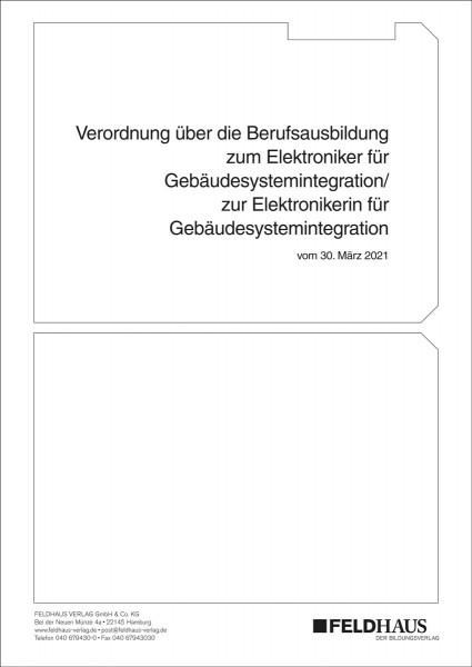 Elektroniker/-in für Gebäudesystemintegration