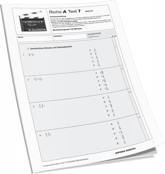 Testheft A 7