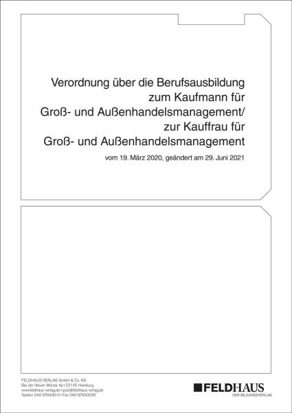 Kaufmann/-kauffrau im Groß- und Außenhandelsmanagement