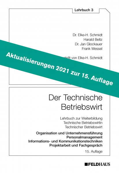 Aktualisierungsbeilage 2021 – Der Technische Betriebswirt LB 3