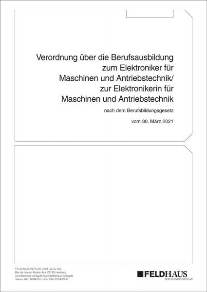 Elektroniker/-in für Maschinen und Antriebstechnik nach BBiG